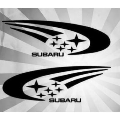 2x  4'' Subaru  Décalque Vinyle Achetez en 2 Recevez 3ieme Gratuit