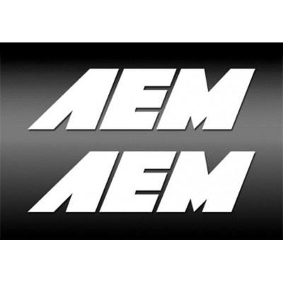 2X 4''  AEM Décalque Vinyle Achetez en 2 Recevez 3ieme Gratuit