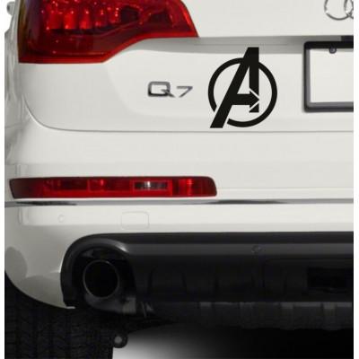 4'' Avengers Logo Vinyle Achetez en 2 Recevez 3ieme Gratuit