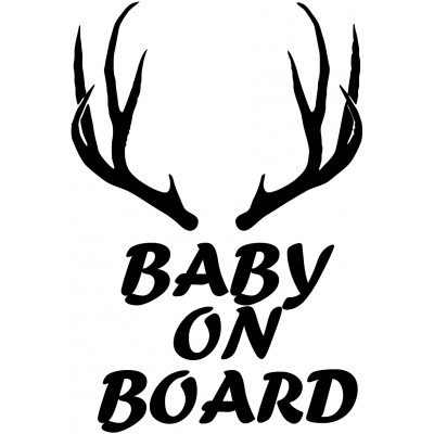 "4""  Baby On Board  Vinyl Decal Buy 2 get 3rd Free"