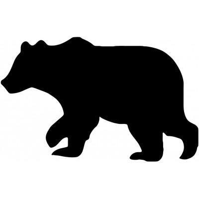 Bear Décalque Vinyle Achetez en 2 Recevez 3ieme Gratuit