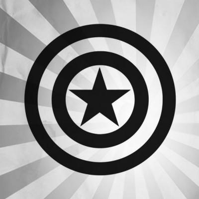 4''  Captain America Shield Décalque Vinyle Achetez en 2 Recevez 3ieme Gratuit