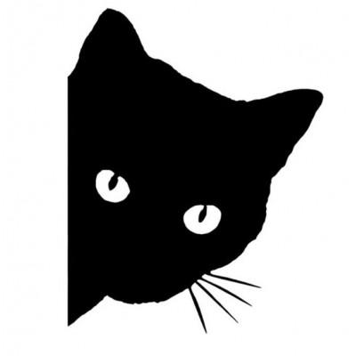 4'' Cat Décalque Vinyle Achetez en 2 Recevez 3ieme Gratuit