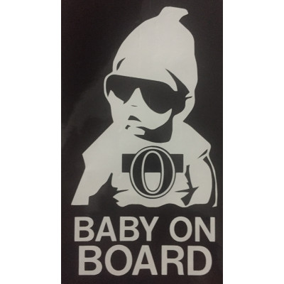 6'' Ottawa Senators Baby Baby on Board Buy 2 Get 3rd Free