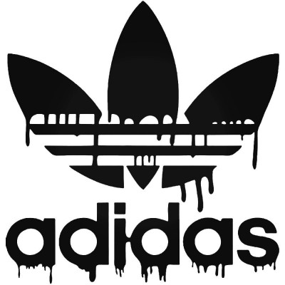 Adidas Dripping Blood Vinyl Decal Buy 2 Get 3rd Free