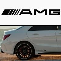 """2x  6"""" Mercedes AMG  Vinyl Decal"""