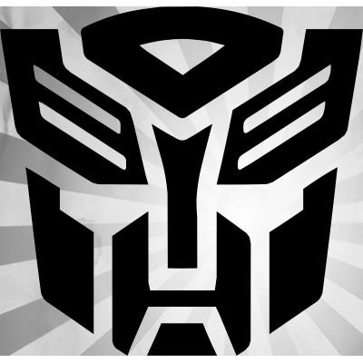 4'' Autobot Transformer Décalque Vinyle