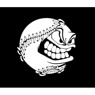 4''  Baseball Ball Vinyle Achetez en 2 Recevez 3ieme Gratuit