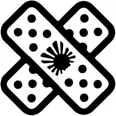 4''  JDM Band Aid Décalque Vinyle Achetez en 2 Recevez 3ieme Gratuit