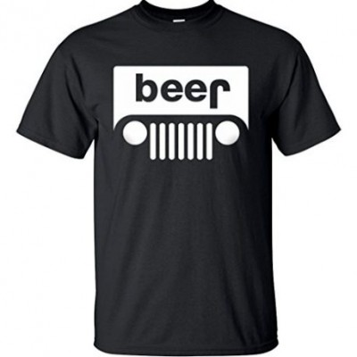 T-shirt Beer Jeep