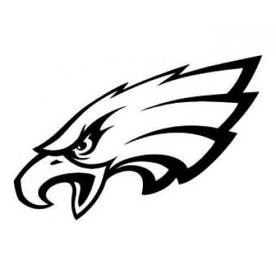 4''  Philadelphia Eagles Vinyle Achetez en 2 Recevez 3ieme Gratuit