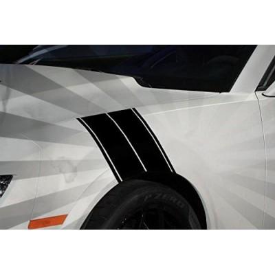 """12"""" Camion, voiture ou Suv Fender Hash Stripe Racing Décalque Vinyle"""