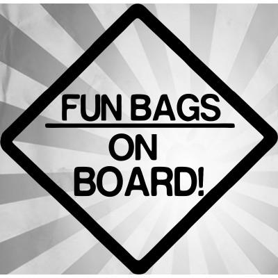 4''  JDM Fun Bag Décalque Vinyle Achetez en 2 Recevez 3ieme Gratuit