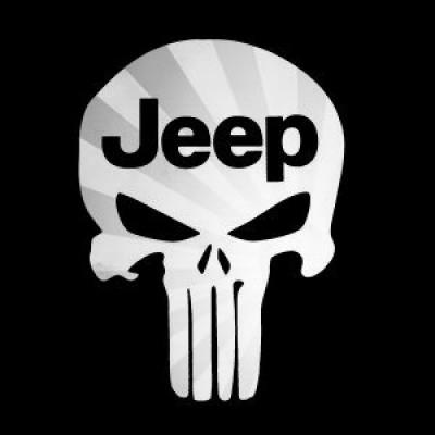 6''  Jeep Punisher Décalque Vinyle