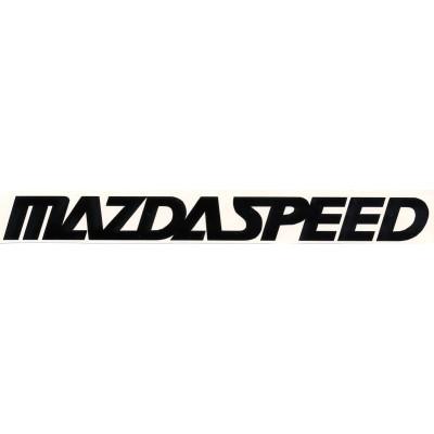 9'' Mazdaspeed Décalque Vinyle Achetez en 2 Recevez 3ieme Gratuit