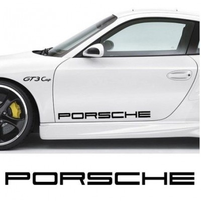 21'' Porsche Vinyl Decal Buy 2 get 3rd Free