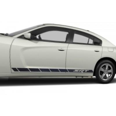 2x  110'' Dodge SRT Décalque Vinyle Achetez en 2 Set Recevez 3ieme Gratuit